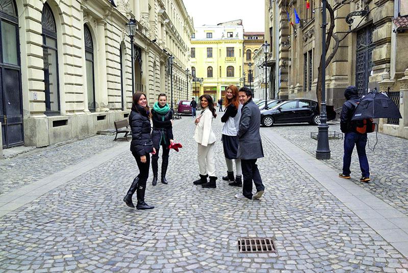 Malvina, Dorian, Raluca, Andreea, Alexandra