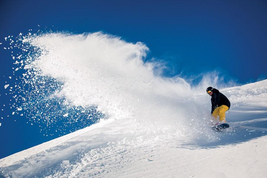 Snowboarding în Tirol, Austria