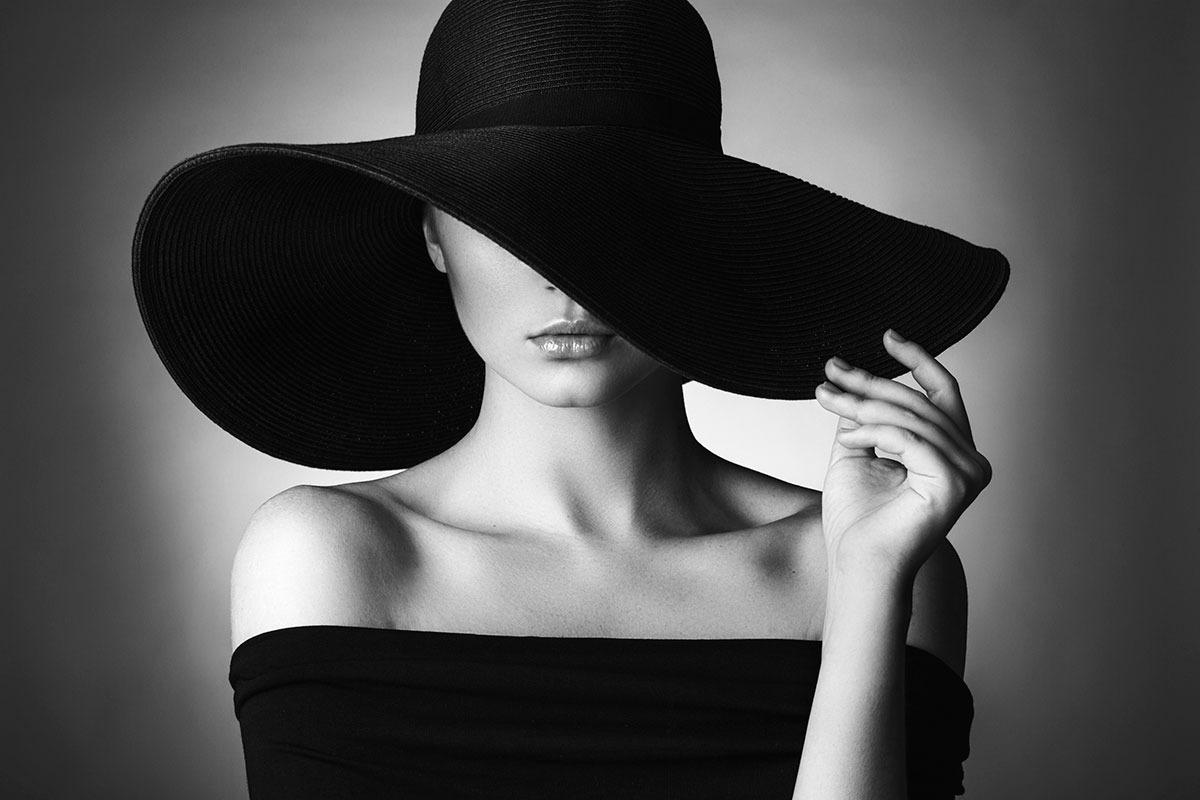 Black&White-Woman