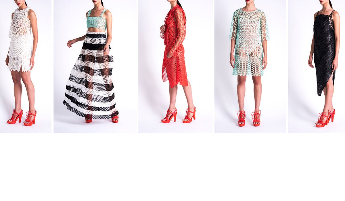 Exclusive interview! The first 3D-printed fashion collection