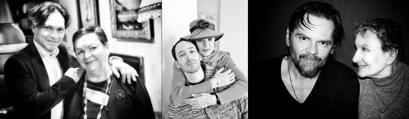 Actorii și mamele lor. Expoziție foto inedită